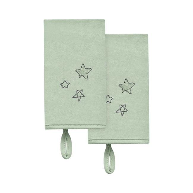 Babita malha kit c/ 2 hug céu infinito estrelas verde