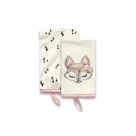 Babita malha kit c/ 2 hug floresta encantada rosa