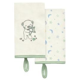 Babita suedine kit c/ 2 hug céu infinito bege verde