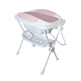 Banheira com trocador galzerano premium rosa