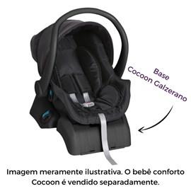 Base para bebê conforto cocoon galzerano preto