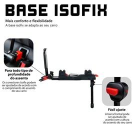 Base para bebe conforto risus abc design com isofix