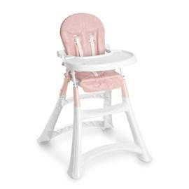 Cadeira de alimentação galzerano premium rosa