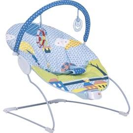 Cadeira de descanso bebe joy kiddo azul