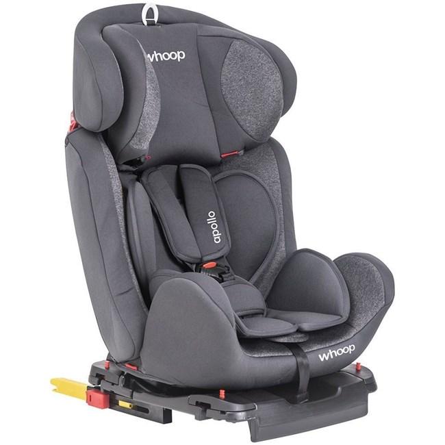 Cadeira para auto com isofix whoop kiddo apollo grafite