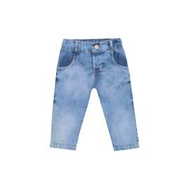 Calca jeans bebe marinheiro baby doces momentos