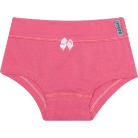 Calcinha infantil upman cotton azalea rosa