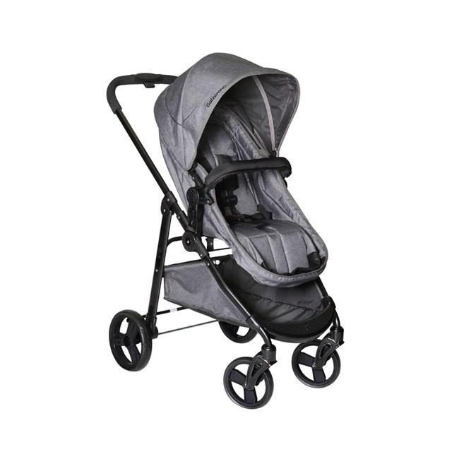 Carrinho de bebe galzerano olympus premium grafite cinza