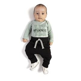 Conjunto bebe body e calça influencer tmx turmalina