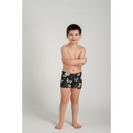 Cueca infantil boxer upman cotton espaço preto