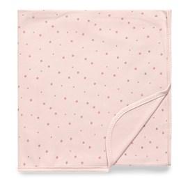 Cueiro bebê premium hug brilha estrelinha rosa