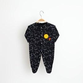 Macacão bebê manga longa universo keko