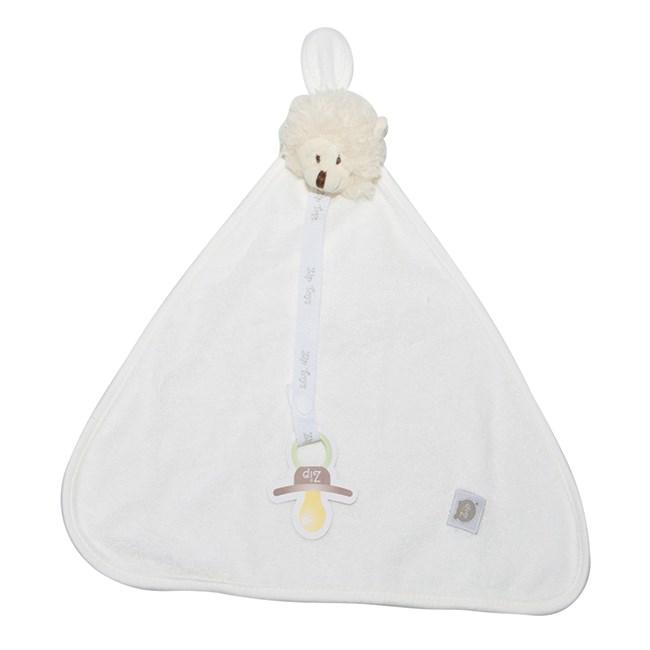 Naninha de bebê atoalhada zip toys ovelha