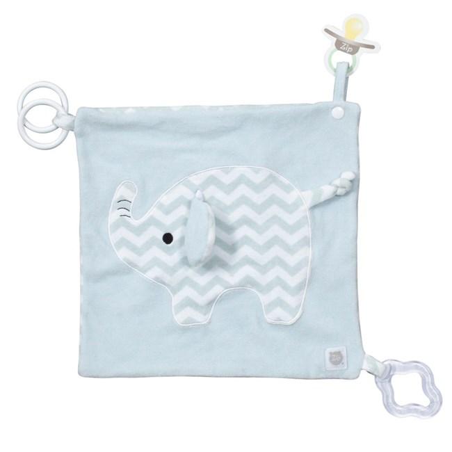 Naninha de bebê c/ mordedor zip toys elefante