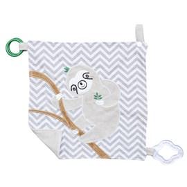 Naninha de bebê c/ mordedor zip toys preguiça