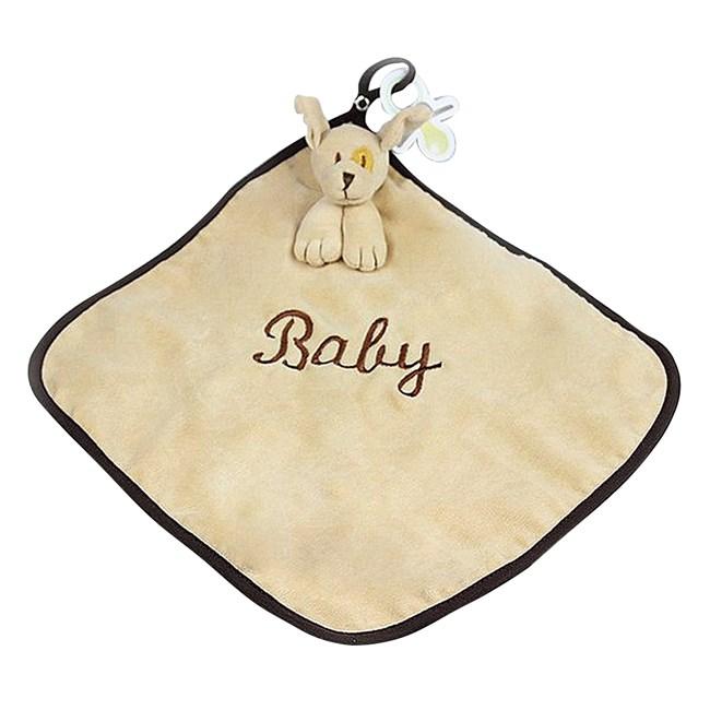 Naninha de bebê cetim zip toys cachorro