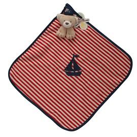 Naninha de bebê cetim zip toys marinheiro