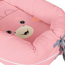 Ninho redutor de berço turminha da hug cleo rosa