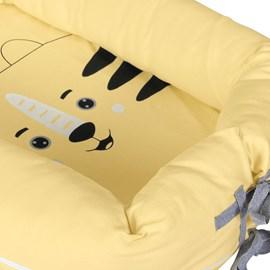 Ninho redutor de berço turminha da hug leo amarelo