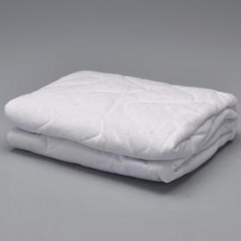 Protetor de colchão flor de algodão 90x190 fibrasca