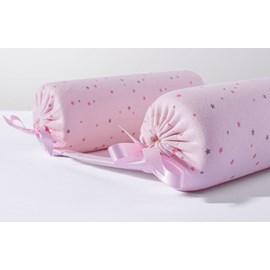 Rolinho segura bebê hug brilha estrelinha rosa