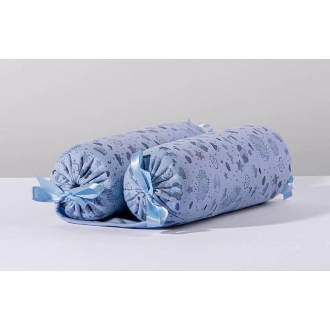 Rolinho segura bebê hug nevoa azul