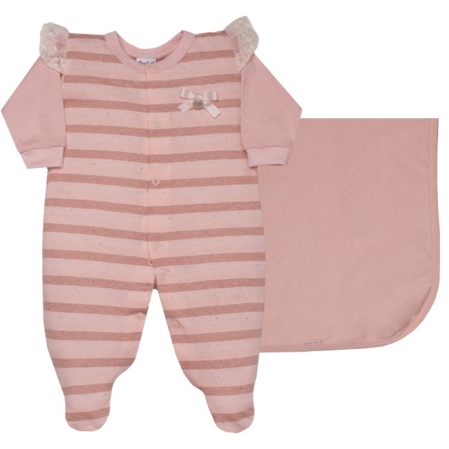 Saida de maternidade malha to happen sonho magico rosa