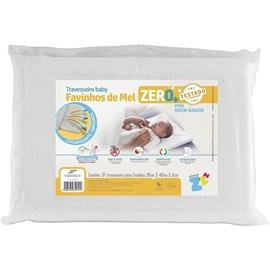 Travesseiro bebe fibrasca favinhos de mel zero+